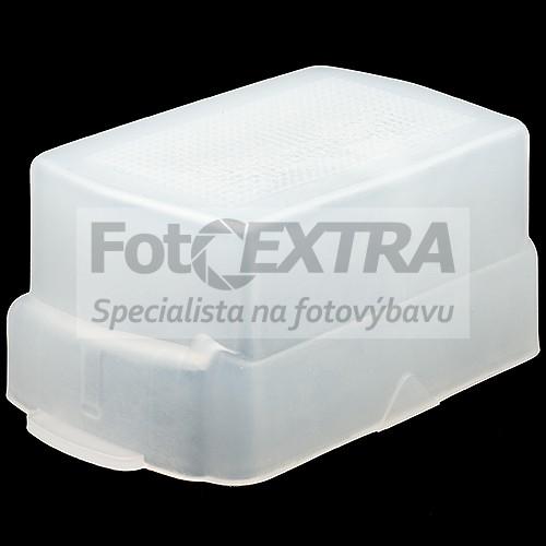 Difuzér pro blesk Nikon SB-800/SB-80DX/SB-50DX a Sony HVL-FH1100/HVL-F1000