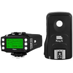 E-TTL rádiový odpalovač blesků Pixel King PRO pro Canon (s funkcí dálkové spouště a dosahem až 1000 m) + doprava ZDARMA!