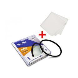 Phottix PMC Multi-Coated Pro-Grade UV filtr 55 mm (German glass) + utěrka z mikrovlákna ZDARMA!