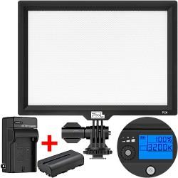 Pixel P20 LED video světlo (3200–5600 K) + baterie NP-F570 (2900 mAh) a nabíječka