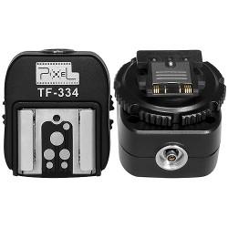 Pixel TF-334 synchronizační kostka se sáňkami blesku pro Sony MI s redukcí na Canon/Nikon a další