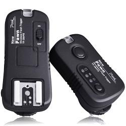 Bezdrátová spoušť/odpalovač blesků 2 v 1 Pixel Pawn TF-364 2,4 GHz pro Olympus/Panasonic/Leica (dosah až 80 m)