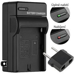 Nabíječka baterií řady L a M pro Sony NP-F970/NP-F770/NP-F570 a NP-FM500H (náhrada Sony BC-V615 a BC-VM50)