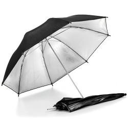 Studiový odrazný deštník stříbrný 110 cm