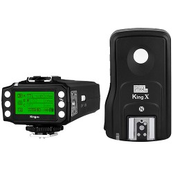 i-TTL rádiový odpalovač blesků Pixel King PRO pro Nikon (s funkcí dálkové spouště a dosahem až 1000 m) + doprava ZDARMA!
