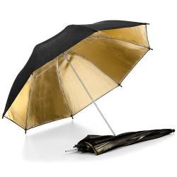 Studiový odrazný deštník zlatý 83 cm