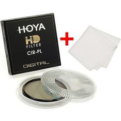 Hoya filtr polarizační cirkulární HD 55 mm + utěrka z mikrovlákna ZDARMA!