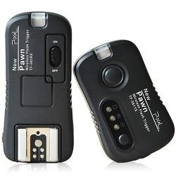Bezdrátová spoušť/odpalovač blesků 2 v 1 Pixel Pawn TF-361 2,4 GHz pro Canon/Contax/Fujifilm/Hasselblad/Olympus/Pentax/Samsung/Sigma (dosah až 80 m)