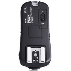 Samostatný přijímač pro bezdrátovou spoušť/odpalovač blesků 2 v 1 Pixel Pawn TF-364 2,4 GHz pro Olympus/Panasonic/Leica